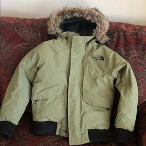 Kid's North Face winter jacket